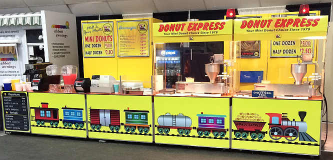 Donut Express Booth